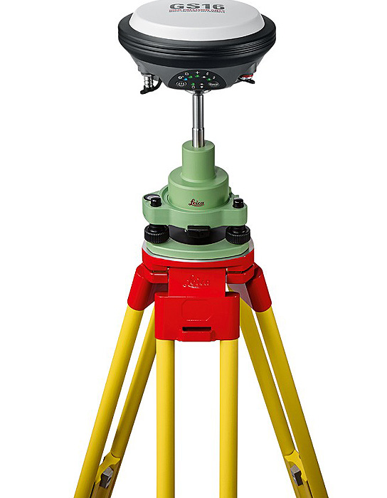 Leica Viva GS16 GNSS RTK Base and Rover